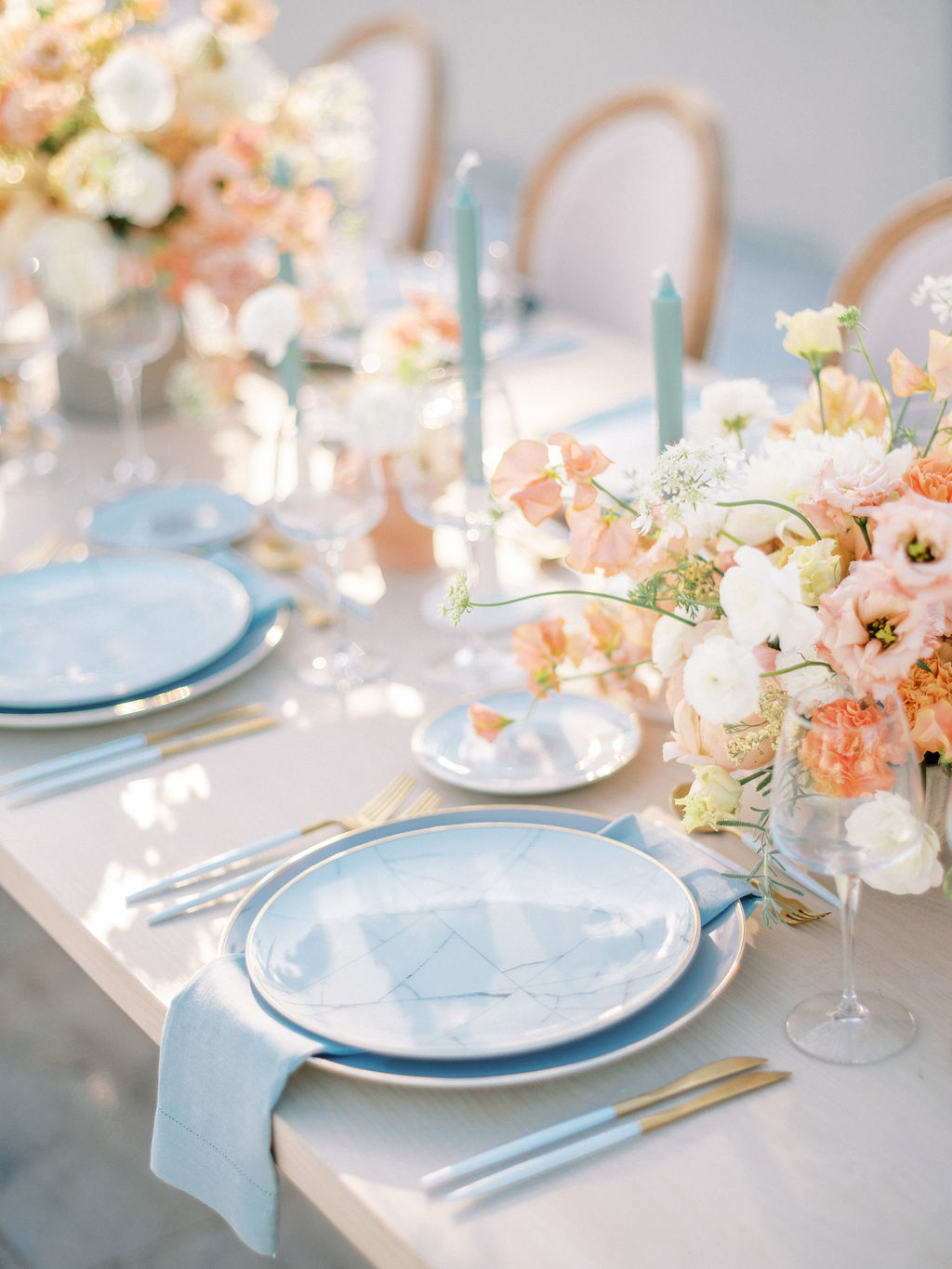 Timeless Spring Wedding Design With A Modern Twist Art De La Table