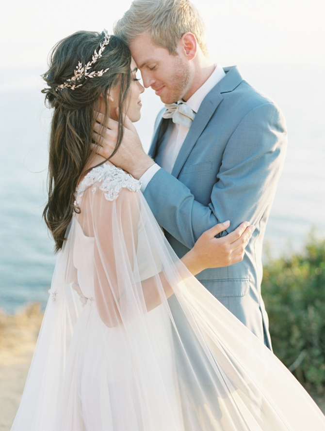 Elopement in Greece - Couple Portrait
