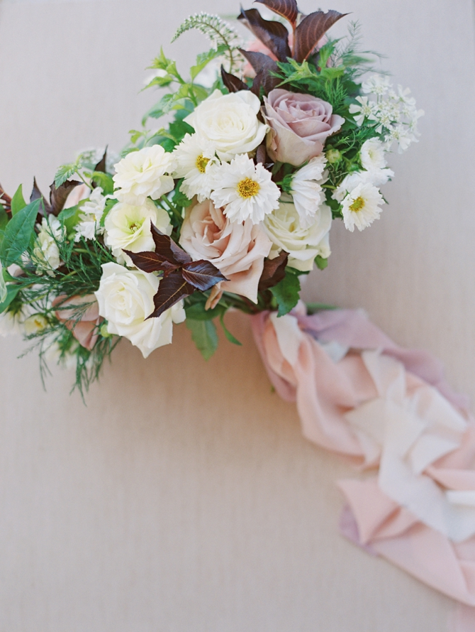 Classy Coastal Elopement In Greece Bridal Bouquet