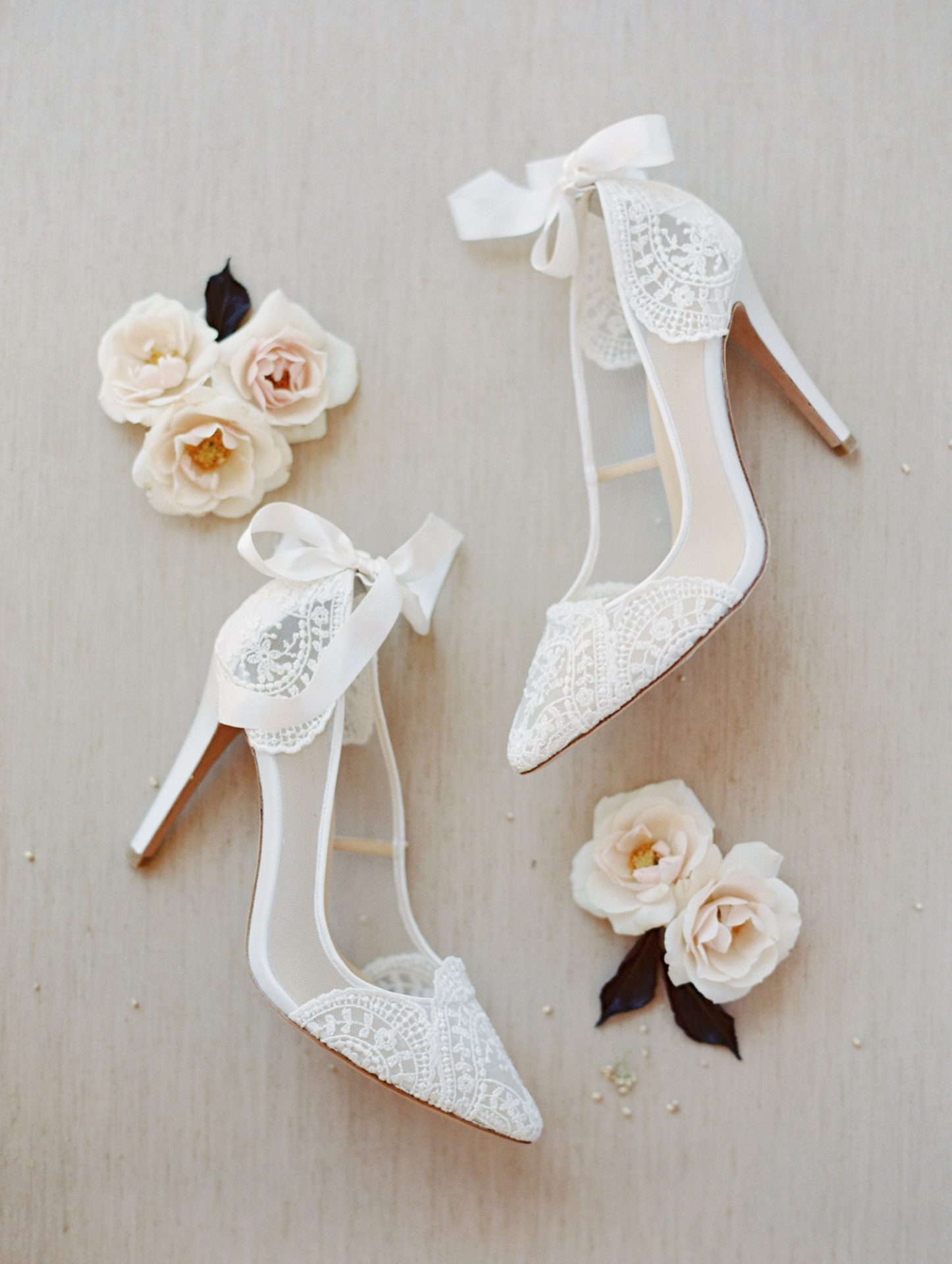 Classy Coastal Elopement In Greece Bridal Shoes