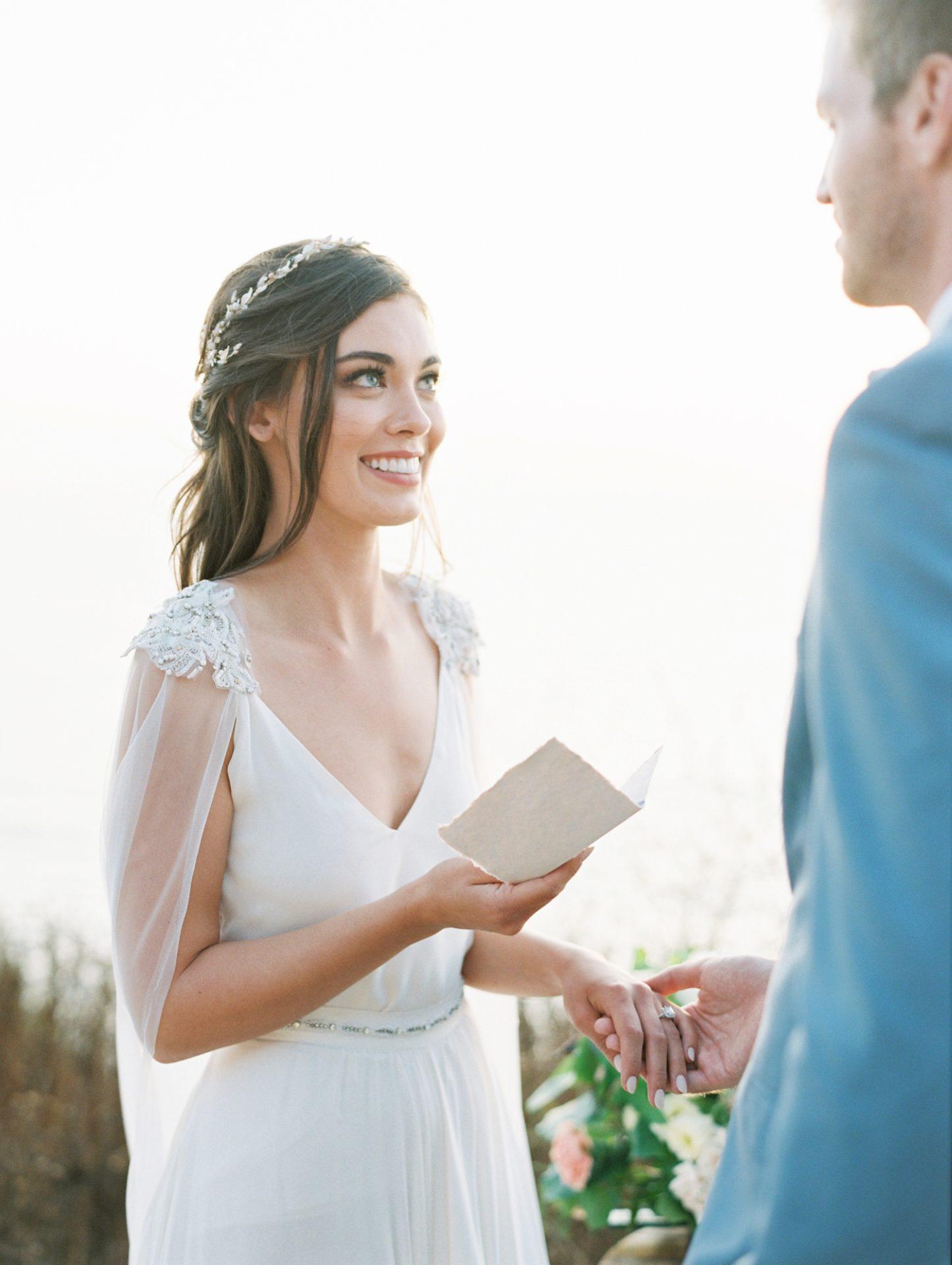 Elopement In Greece - Wedding Ceremony