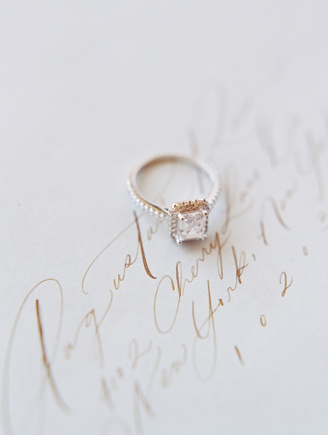Classy Coastal Elopement In Greece Wedding Ring