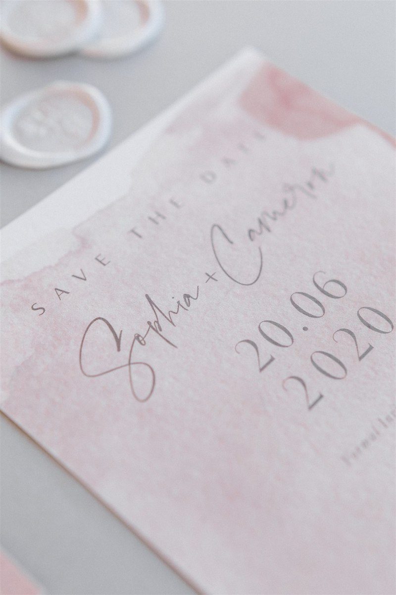 Dashing Elegance In Neutral Tones At Pyrgos Petreza Wedding Stationery