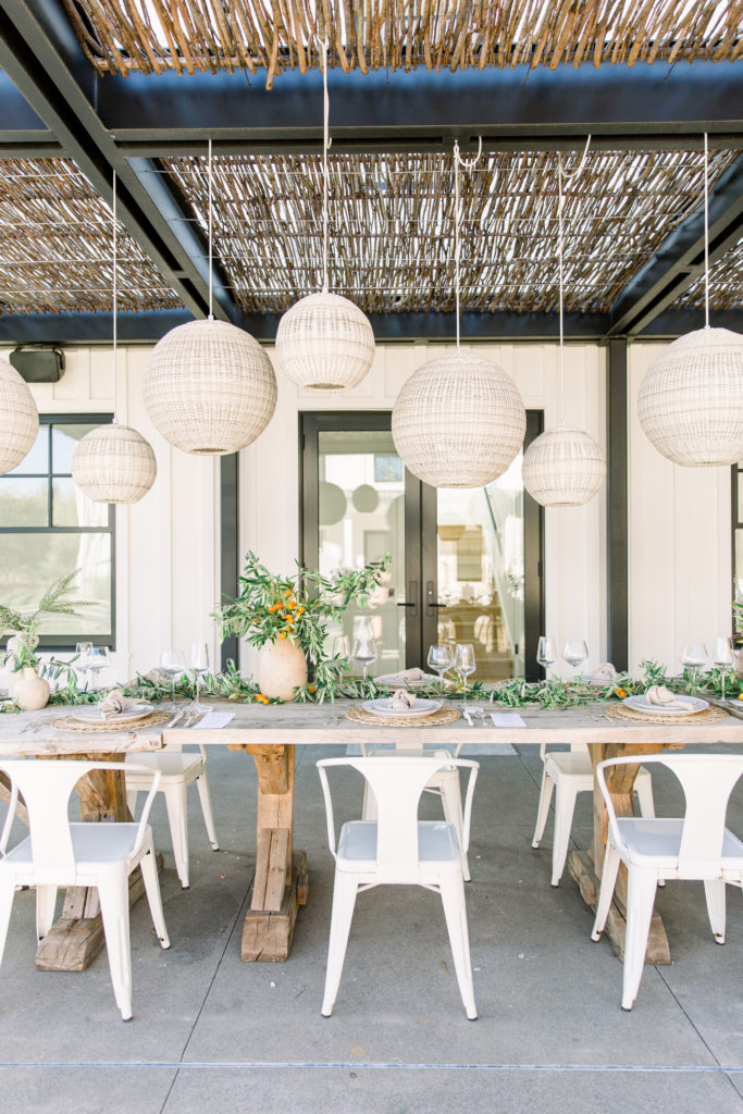 Farm To Table Summer Soiree With An Organic Vibe Table Setup