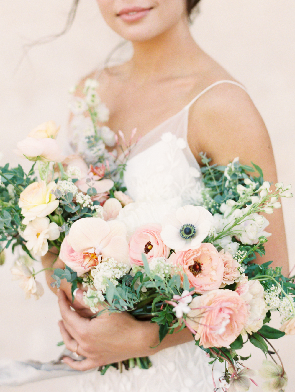 Modern Romantic Elopement Bridal Bouquet