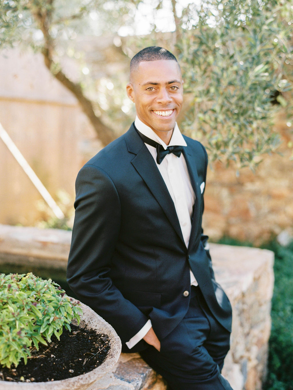 Wedding In Greece - Groom Portrait