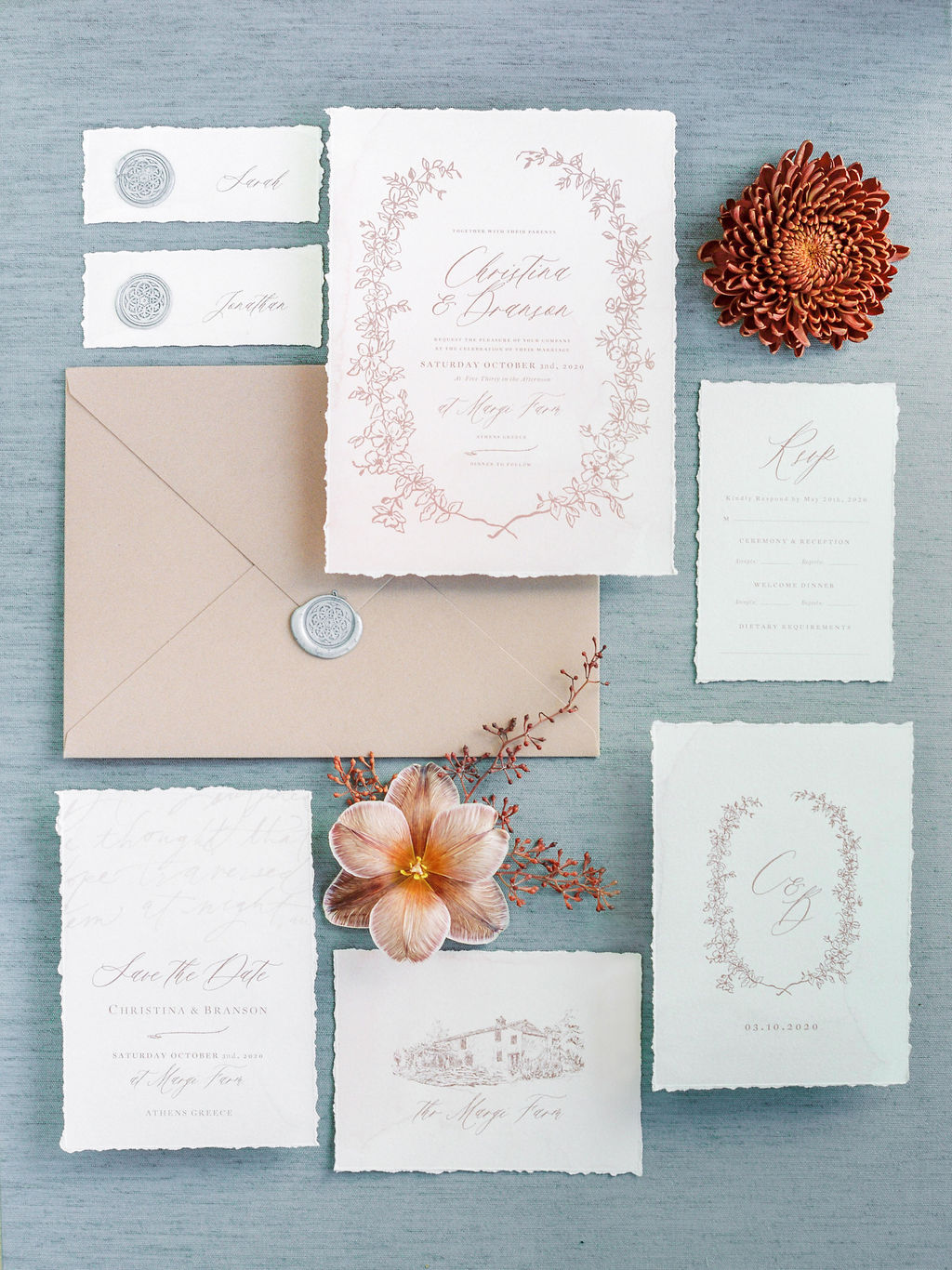Timeless Spring Wedding Design With A Modern Twist Coupe Portrait