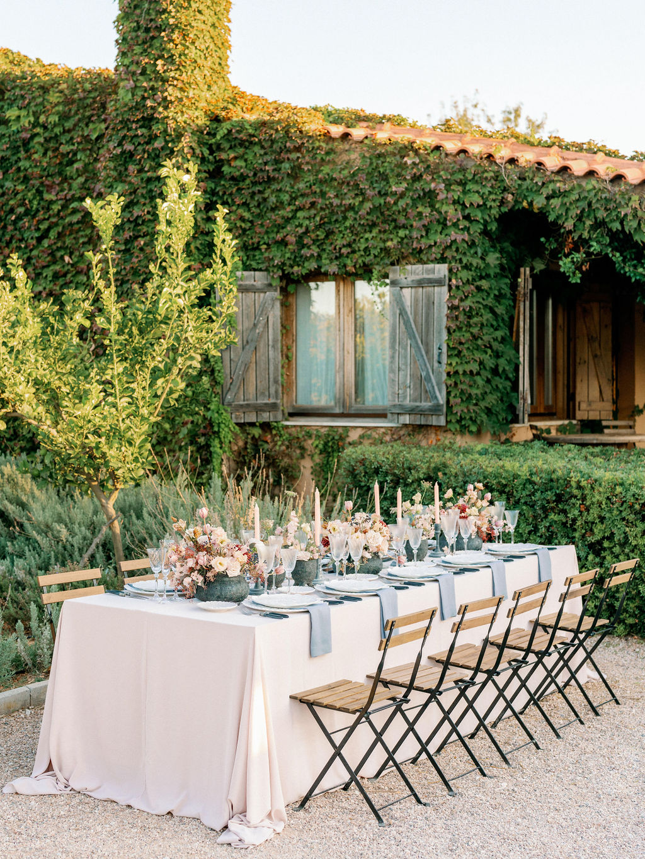 Wedding In Greece At The Margi Farm - Table Setting