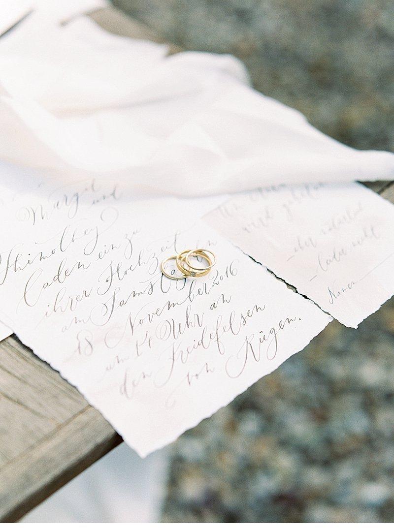 Stylish Al Fresco Wedding In Mani Wedding Stationery