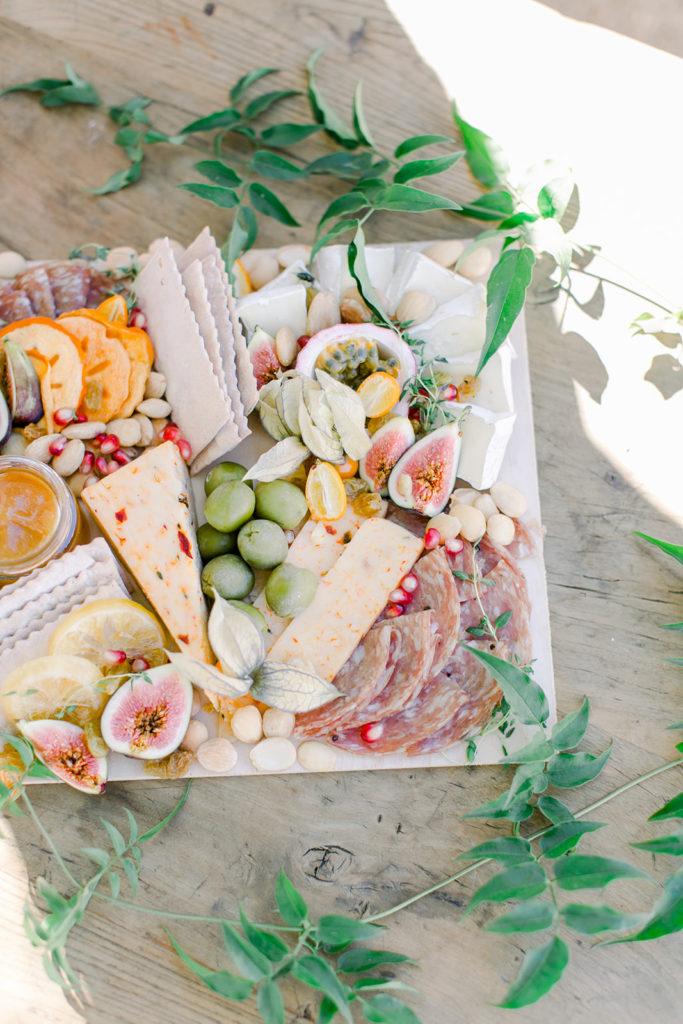 Stylish Desert Inspired Bridal Shower Finger Food