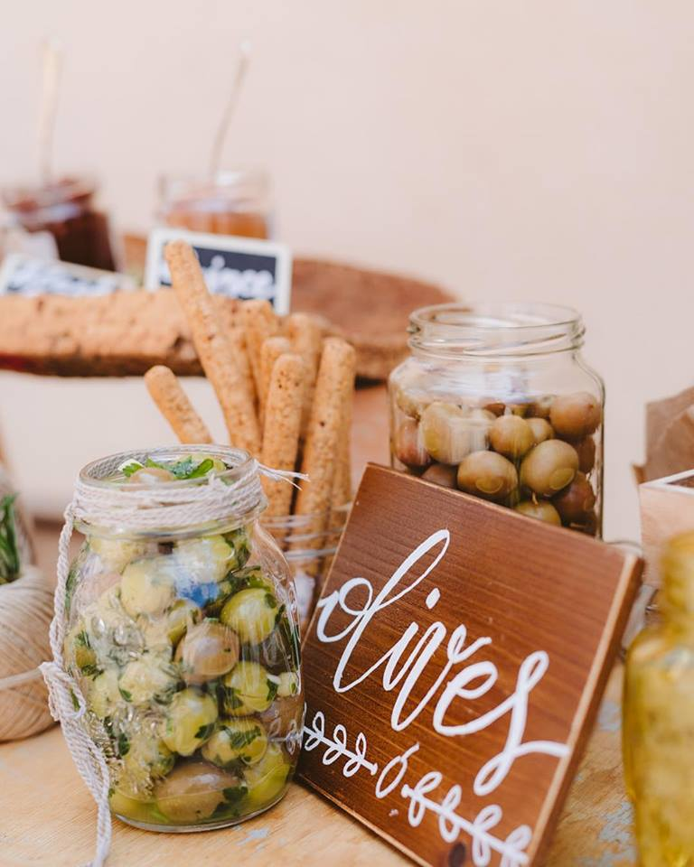Traditional Wedding With A Modern Twist In Greece Delicacies