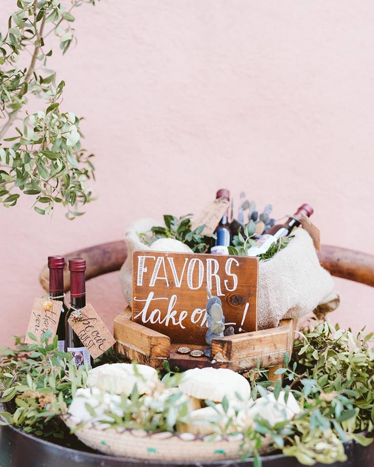 Traditional Wedding With A Modern Twist In Greece Favors