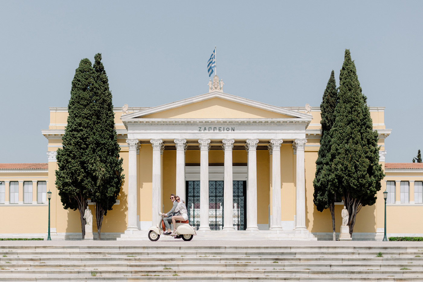 Wedding Proposal In Athens - Zappion