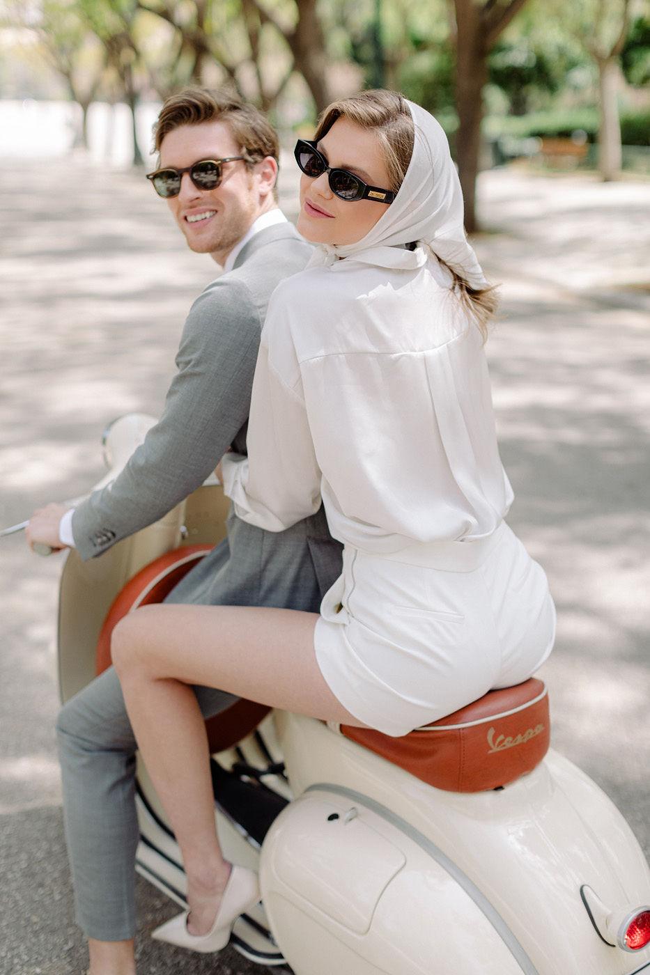 Wedding Proposal In Athens - Stylish Couple