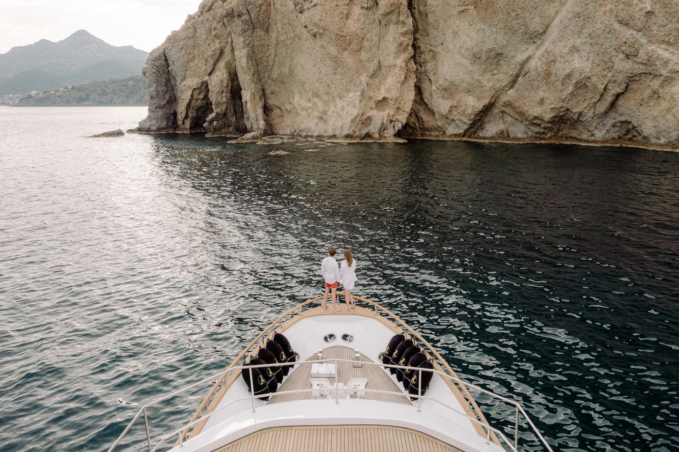 Wedding Proposal In Athens - Luxury Yacht Greece