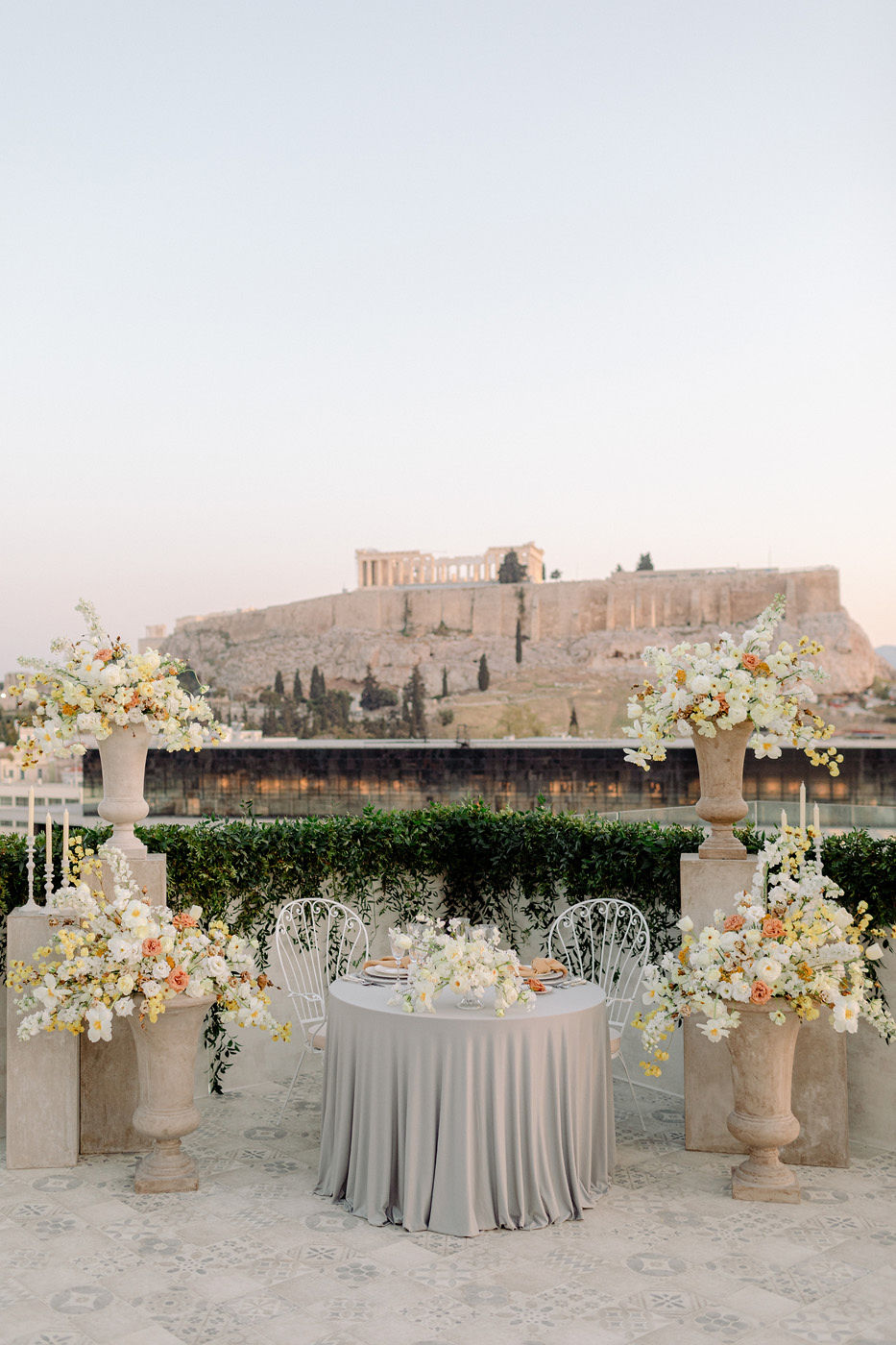 Wedding Proposal In Athens - Decor
